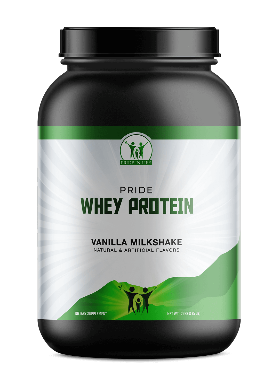 5lb Whey Protein Vanilla – 70 servings