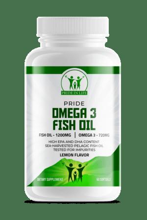 Pride Omega 3 Fish Oil