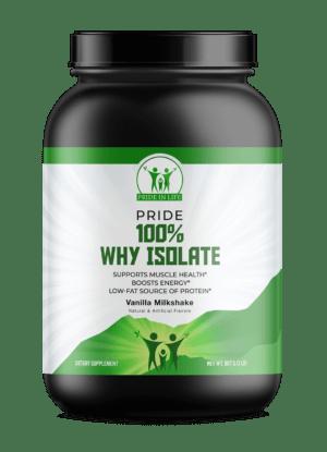 Pride 100% Why Isolate Vanilla 2lb