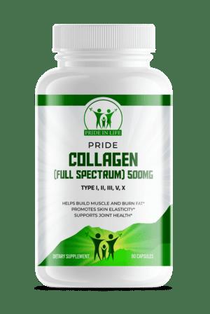 Pride Collagen (Full Spectrum) 500mg