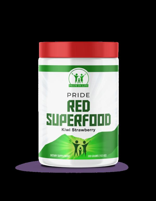 Pride Red Superfood kiwi strawberry